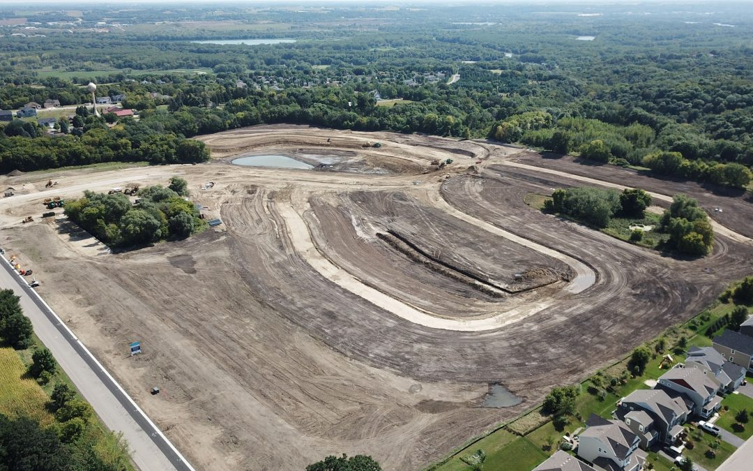 Ryan Vincent With Vincent Real Estate Announces First Stage Lot Closing in Carver, MN